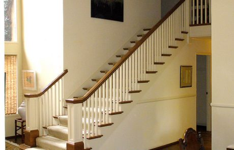 Post to Post with Square Detail Staircase