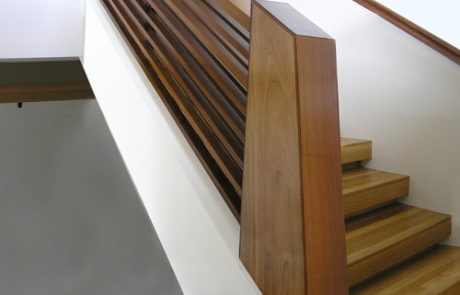 Post to Post Custom Staircase
