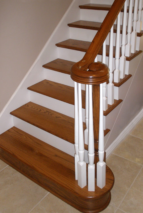 Volute Detail Staircase Norman Hasenfang Railings And Stairs